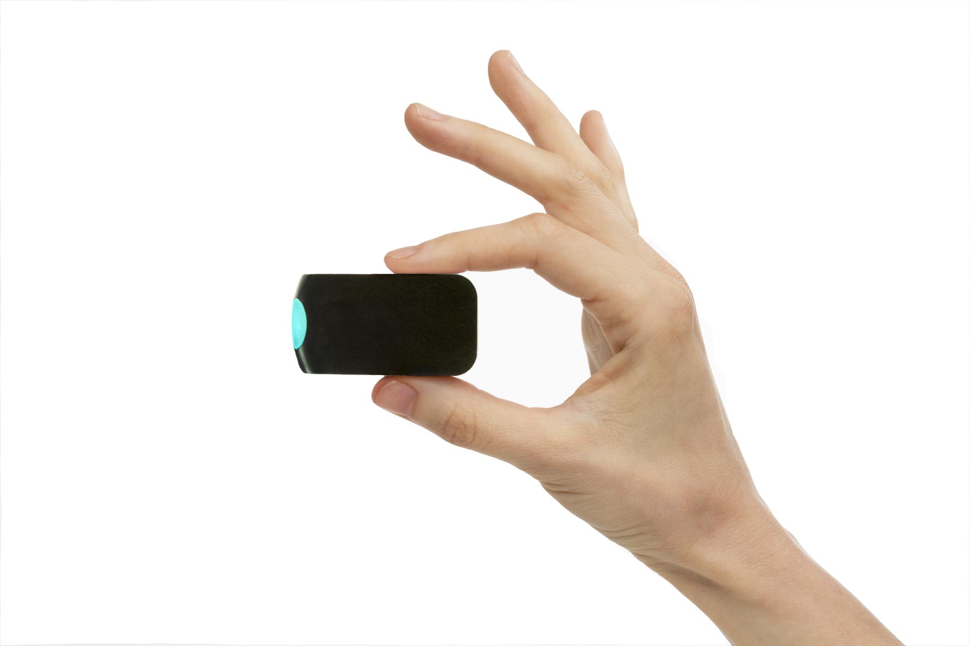 Wynd 휴대용 공기청정기 센서 블랙