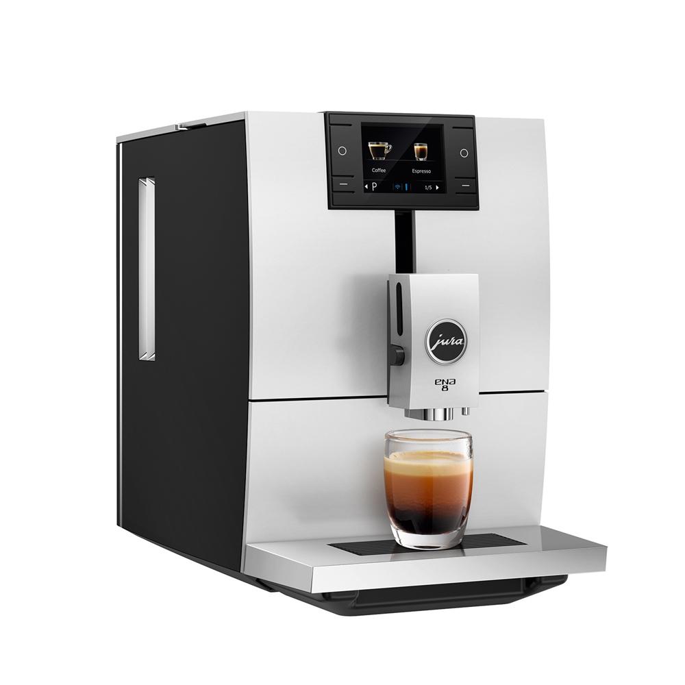 유라 전자동 커피머신 1.1L 125g, ENA8(Metropolitan Black)