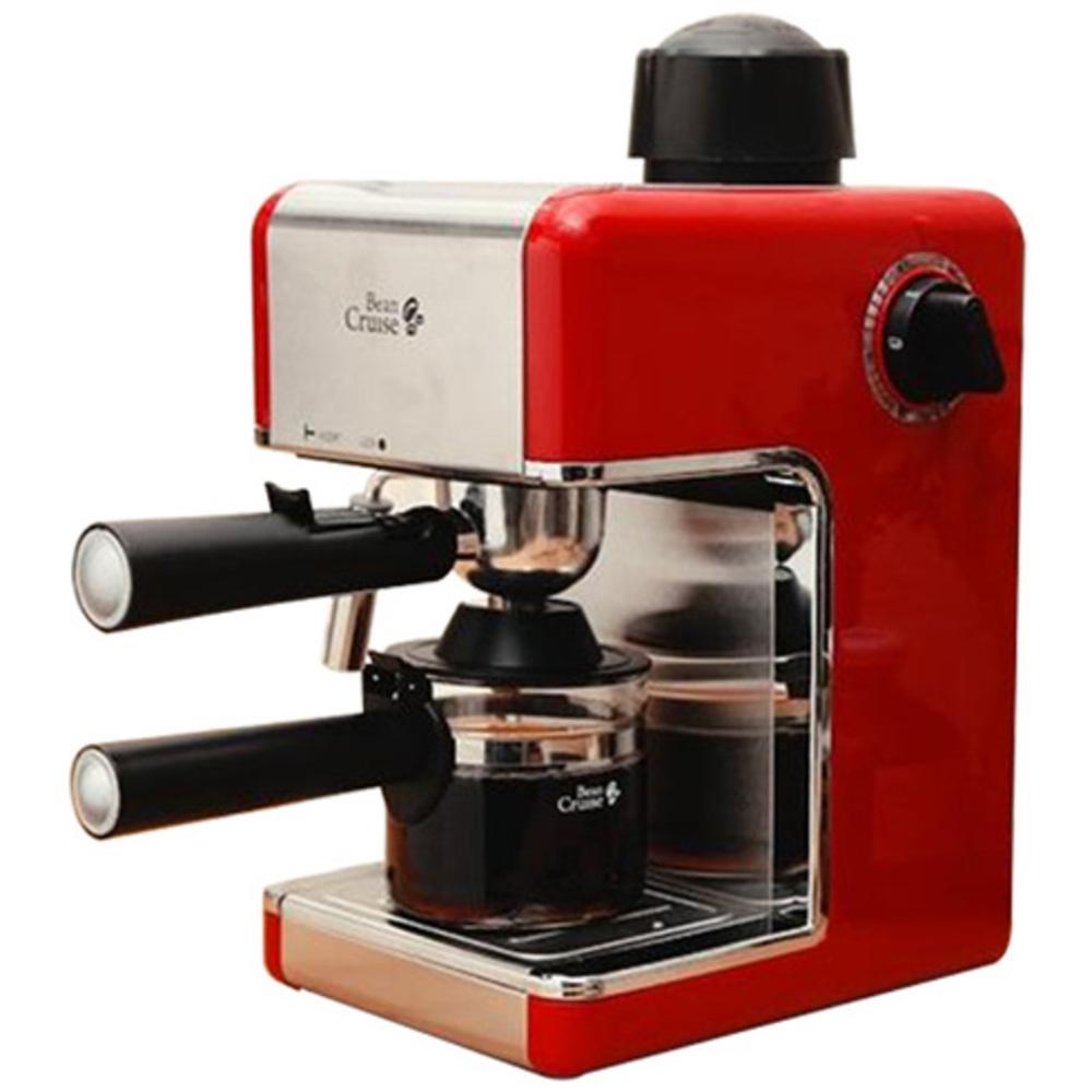 빈크루즈 에스프레소 커피머신, BCC-480ES(레드)
