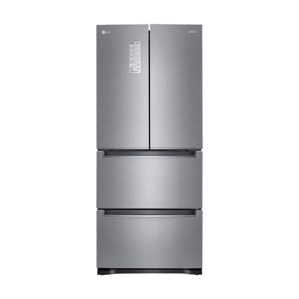 LG전자 DIOS 톡톡 스탠드형 김치냉장고 K410SS14E 402L 방문설치