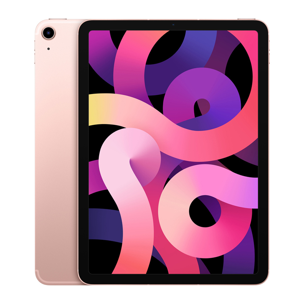 Apple 2020년 iPad Air 10.9 4세대, Wi-Fi+Cellular, 64GB, 로즈 골드