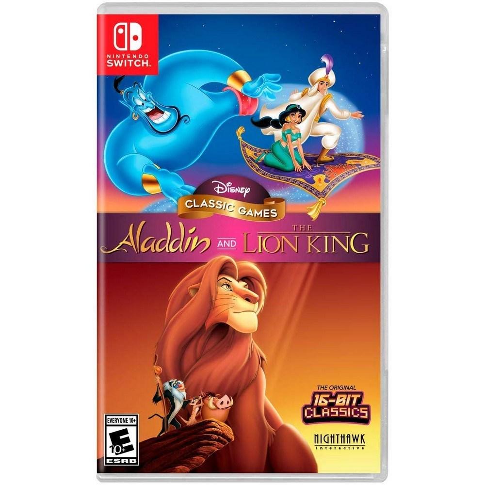 닌텐도 스위치 알라딘 & 라이온킹 Aladdin and the Lion King, 단일 상품