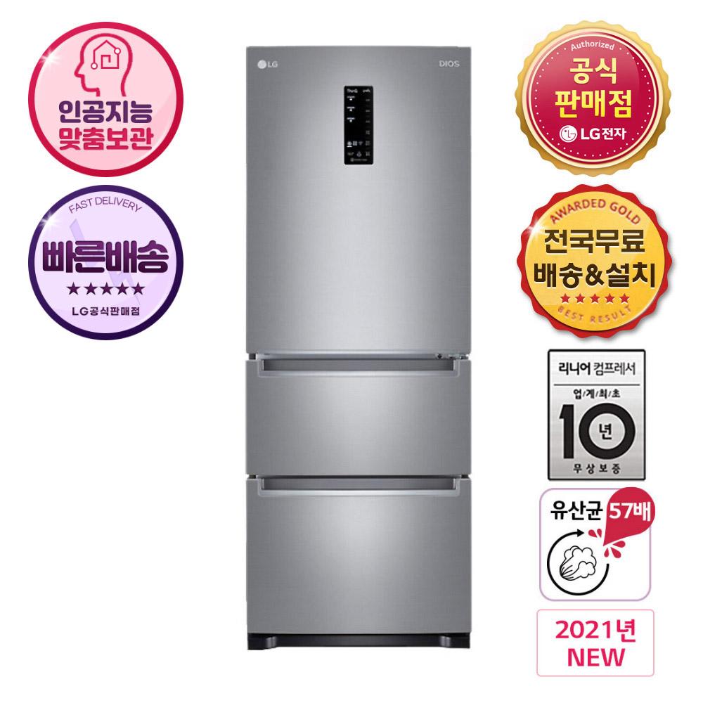 LG전자 K335S14 김치냉장고 스탠드형, K335S14.AKOR