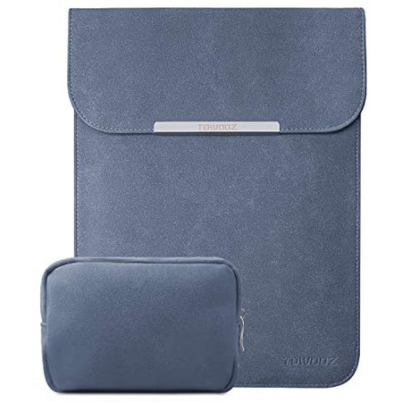 맥북 프로 13인치 2020 가죽 파우치 S20 TOWOOZ 13.3 Inch Laptop Sleeve Case Compatible with 2016-2020, One Color_13-13.3inch, One Color